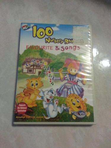 100 Favorite Nursery Rhymes Song VCD