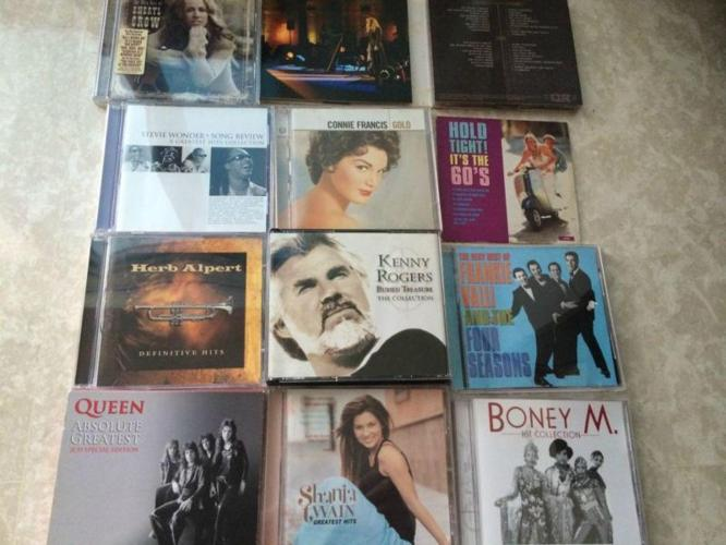 12 English CDs for sale
