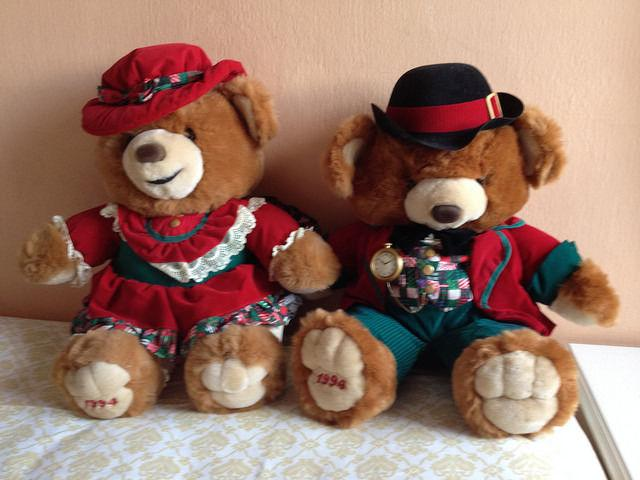 1994 Kmart Christmas Bears