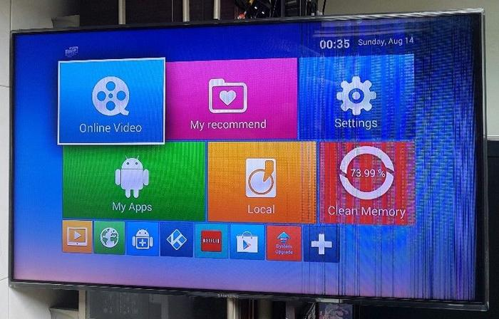 1 yr old Samsung 40 inch smart LED TV for immediate