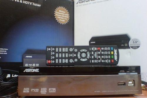 2-in-1 DVB-T Tuner HDTV Recording Media Player 1080P