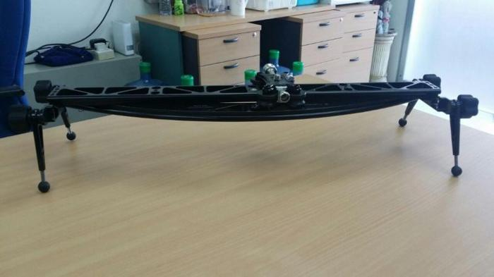 2-in-1 Straight and Curved Camera Slider