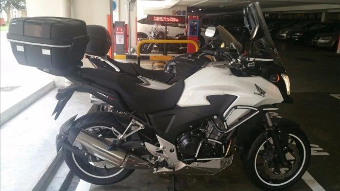 2015 Honda CB400X non ABS White