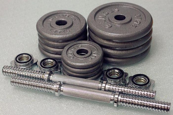 20kg Hammertone Dumbbell Set (2pc/10kg each)