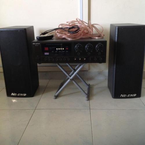 24bit professional system karaoke amplifier