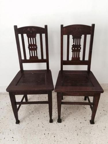 2 antique chairs for $50