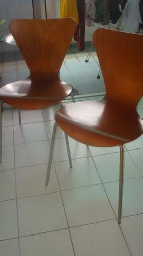 2nos of Wooden Chairs for sale