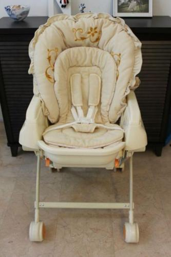 3-in-1 Rocking Bed/Reclining Seat/High Chair