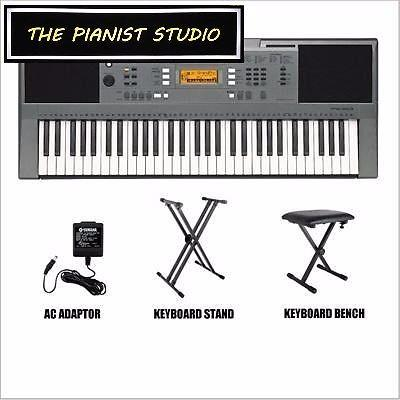 [$360] THE PIANIST STUDIO | Yamaha Keyboard PSR E353