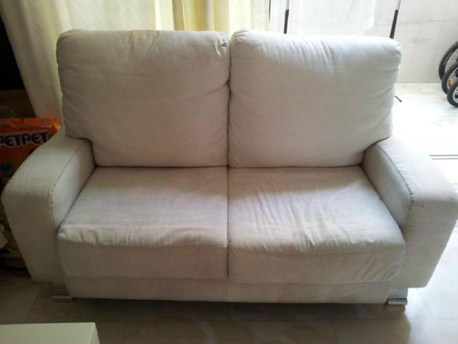 3 2 fabric off white sofa for sale for sale in sims for Fabric sofas for sale