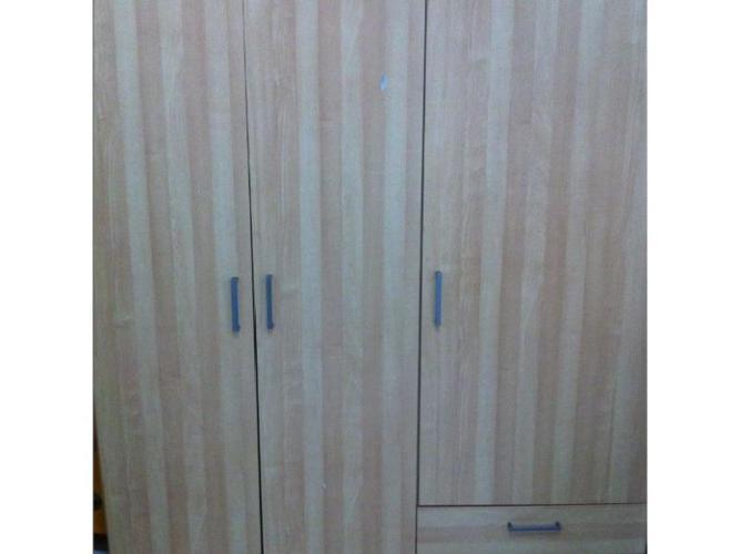 3 door Ikea wardrobe for sale.