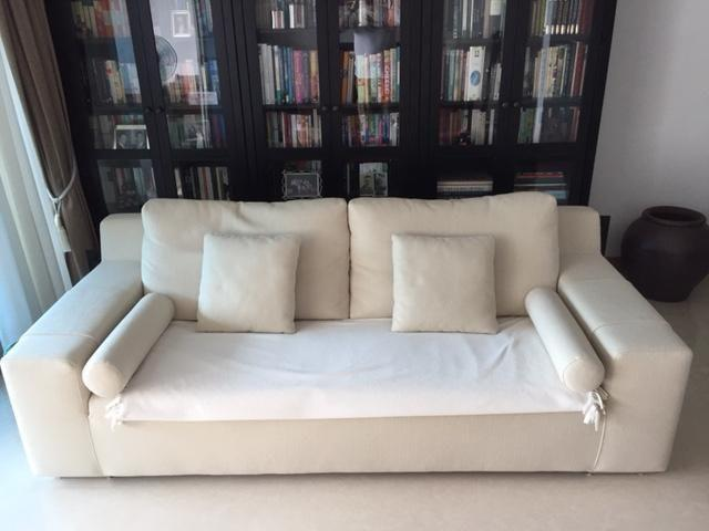 3 seat Sofa from V furniture, Park Mall and FREE