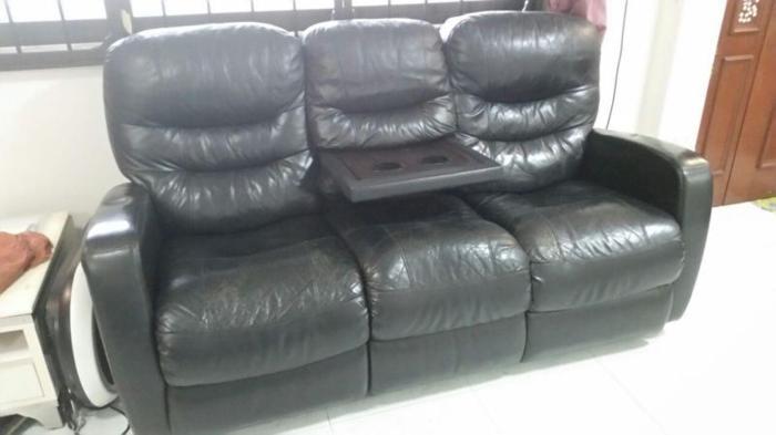 3 - seater recliner sofa