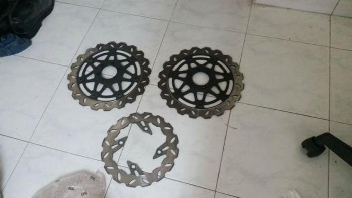 3 Super 4 Brake Discs