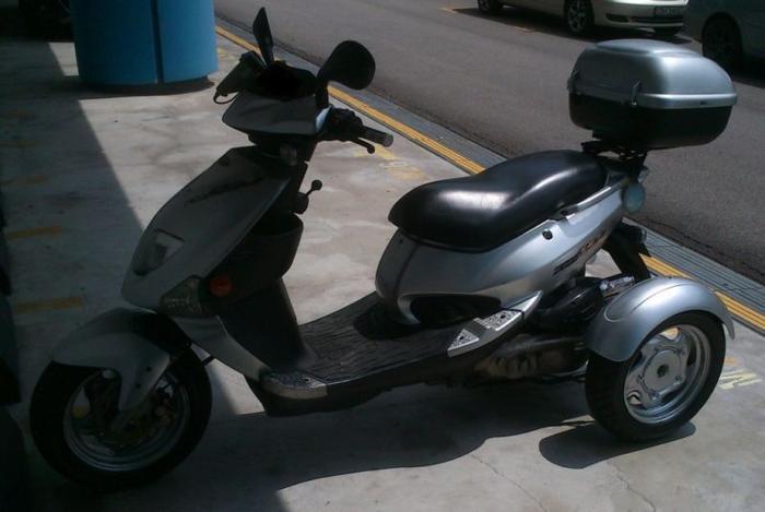 3 wheeler motorcycle bike PGO TR3 150 CVT for Sale in