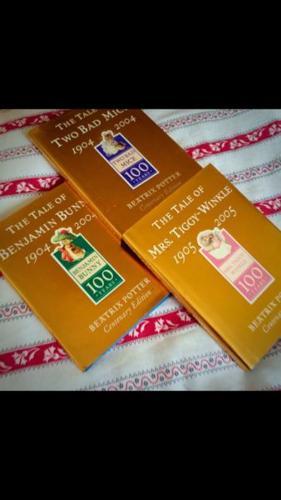 3 x Beatrix Potter Books - Centennial Anniversary