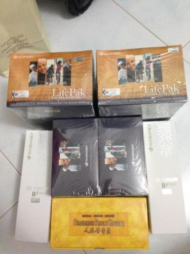 3 x twin pack LIfepack + ageLOC R2 x 2