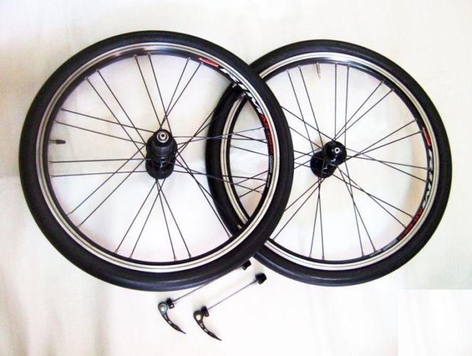 ~~~ 406 ALuMiNIum 20ins Wheel Set for FoLDie BiCYCLe