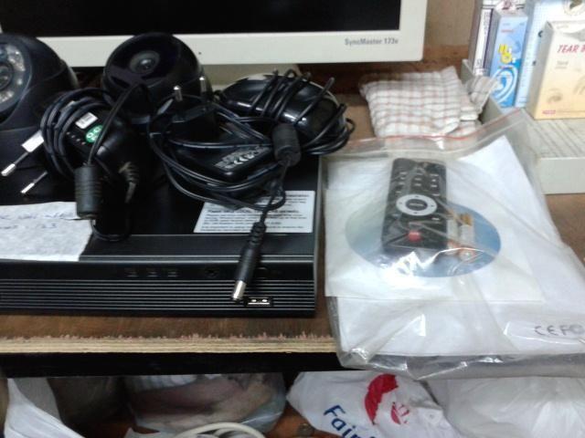 4 X CH CCTV SYSTEM