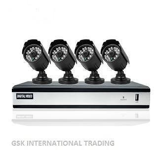4CH FULL HD CCTV kit for sale at $370 cheaper price