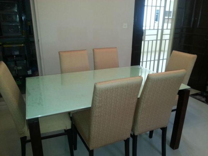 6-chair Dining Table Set for sale