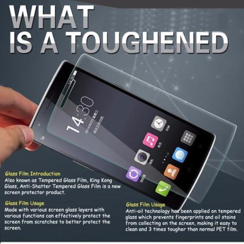 9H Tempered Glass Screen Protector / Smartphone / Apple