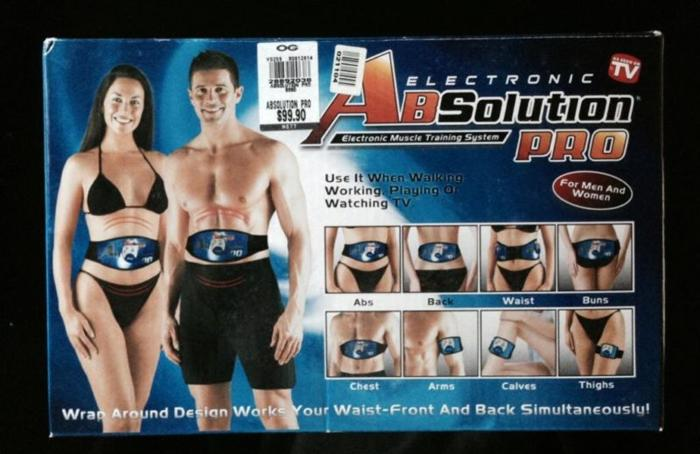 ABSolution Pro Electronic Muscle Training