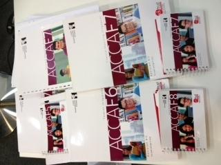 ACCA F5, F6, F7, F8! TextBooks+Revision Kits+Lecture Notes +