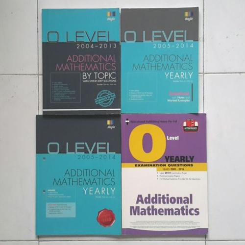 Additional Mathematics Textbooks (very cheap)