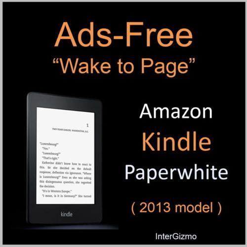 Ads-free Amazon Kindle Paperwhite (2nd generation, 2013