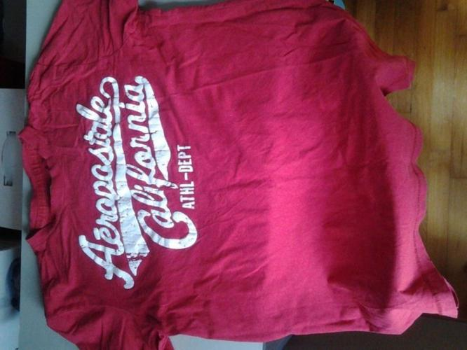 Aeropostale red t-shirt Size M