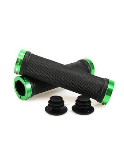 Aerozine XG1 Lock On Handlebar Grips - Green