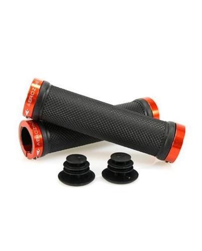Aerozine XG1 Lock On Handlebar Grips - Orange