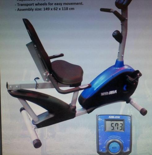 AIBI Gym Recumbent Magnetic Exercise Bike for Sale in Choa