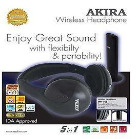 AKIRA Wireless headphone! Perfect for Christmas Gift