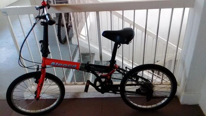 aleoca foldable bicycle 16