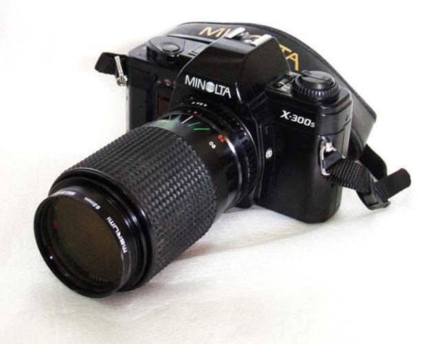ALMosT MinT 1981 MiNoLta X300S FiLm SLR Camera with