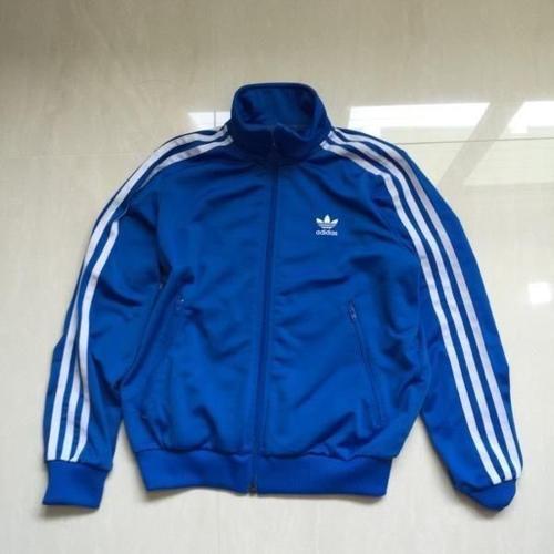 Almost New! ADIDAS Jacket Children Size 36cm BLUE color