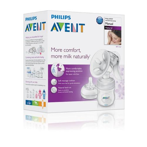 Almost New Avent Manual Breast Pump