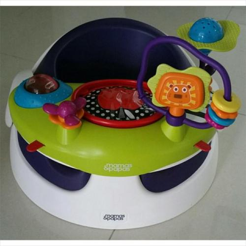 *almost new* Mama & Papa 'Baby Snug with Toy Tray'