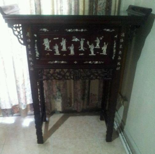 Altar Table For Sale. 8/10 Very Good Condition.