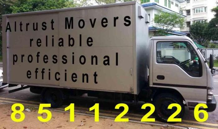 Altrust Moving and Delivery Services 85112226