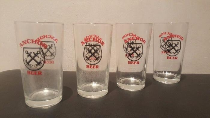 ANCHOR Beer Glass 425 ml (Set of 4 pieces)