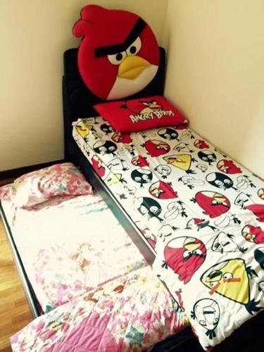 Angry Bird Kids Pull out Bed