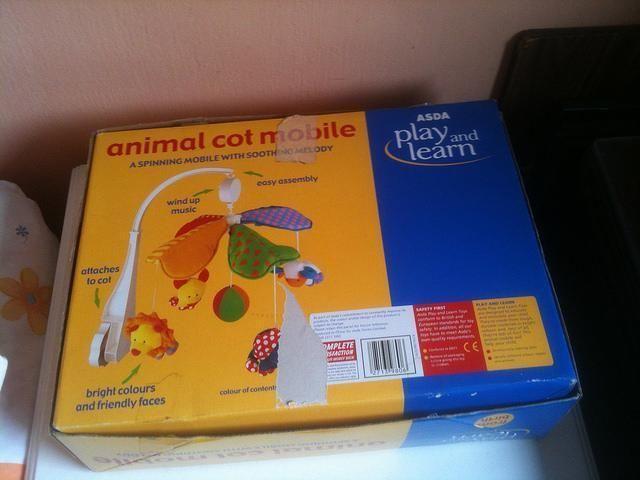 Animal Cot Mobile