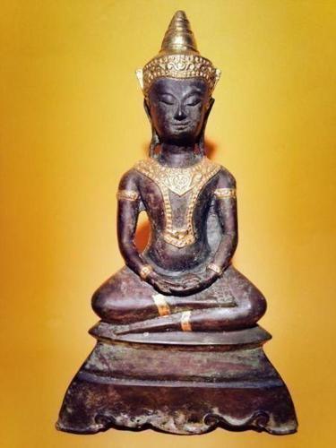 Antique Autthaya Phra Chai Bucha High Spiritual power