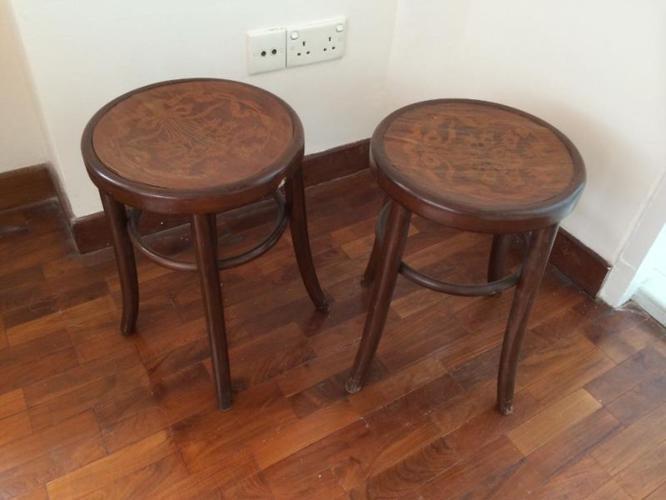 Antique chicken stools
