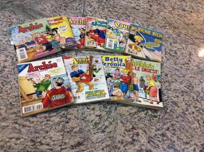 Archie comic books