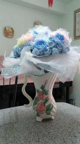 Artificial Flowers in 8 Soothing Colours with