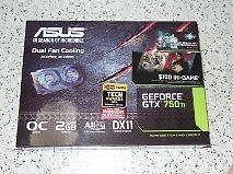 Asus NVIDIA GEFORCE GTX 750Ti Graphics Card With $100